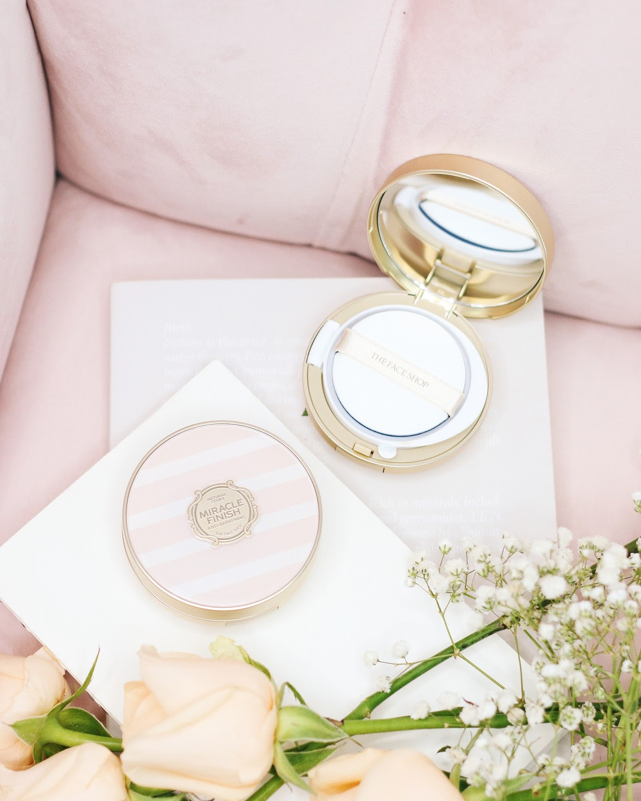 The Face Shop Miracle Finish Anti-Darkening Cushion
