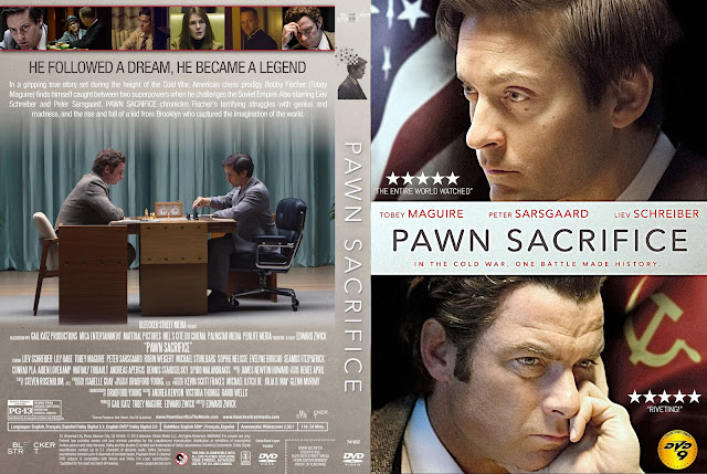 Pawn Sacrifice DVD Cover
