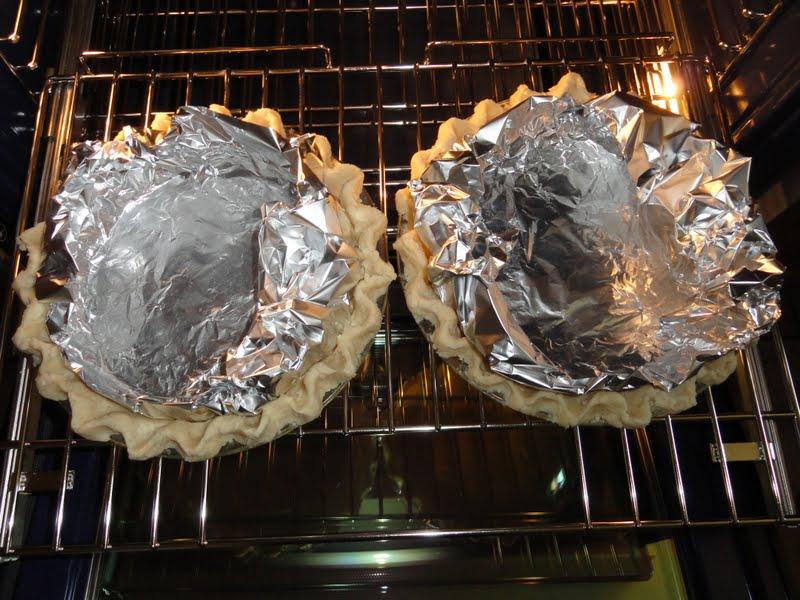 Lemon Meringue Pie pre-bake pie crust from Serena Bakes Simply From Scratch.