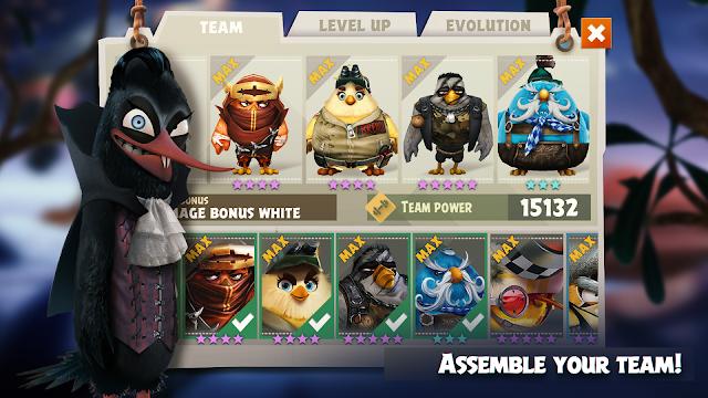 Screenshot Angry Birds Evolution