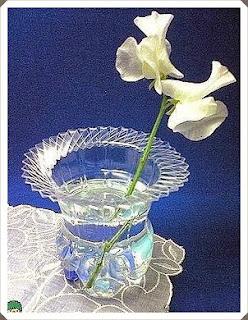 Pet Şişeden vazo yapımı, resimli açıklamalı