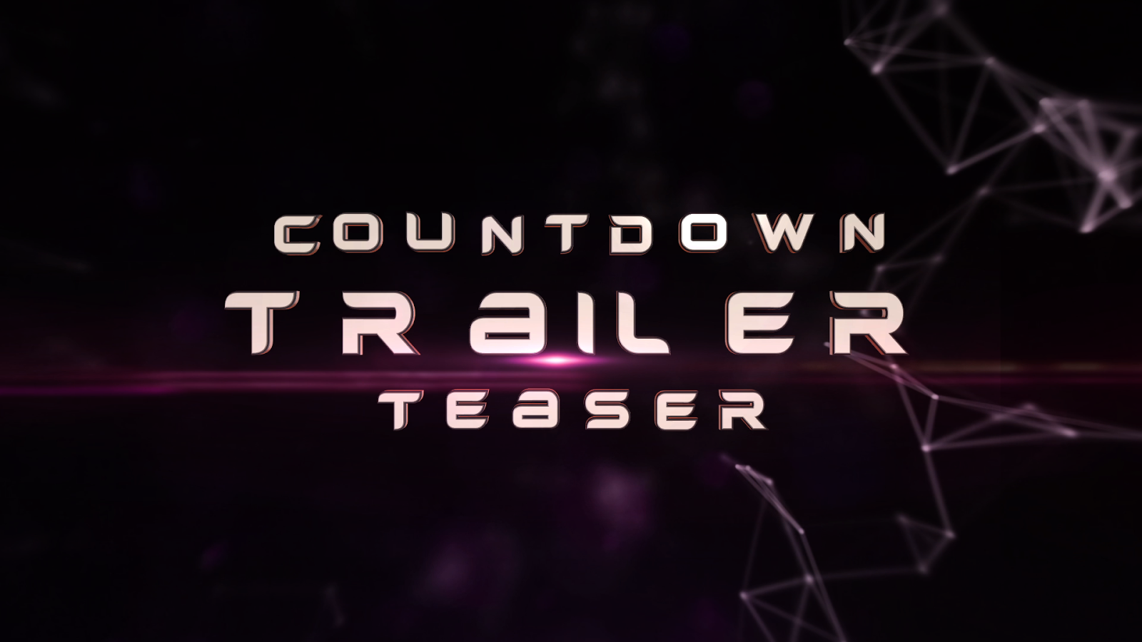 After Effects Template - Countdown Trailer Teaser - gosharemore ...