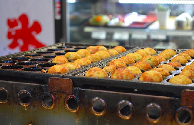 Takoyaki, Perth, Fremantle Market, Gingey Bites.