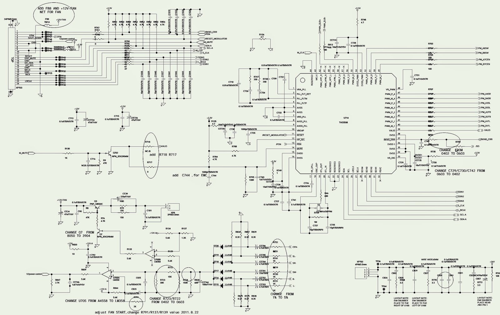 Network Schematic Jbl L19