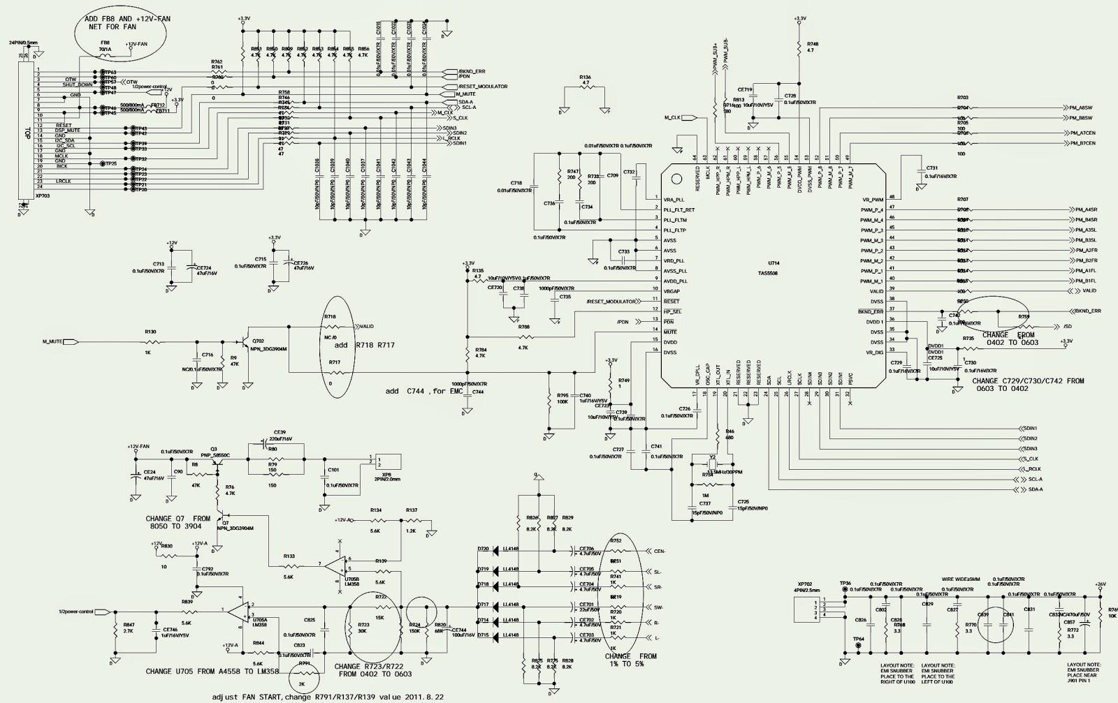 Factory Reset Software Update Dsp Schematic Jbl Bd 300
