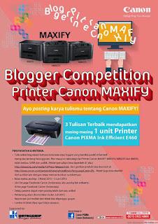 Printer Canon Maxify Memudahkan Pekerjaan