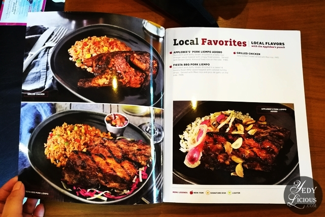 Applebee's Philippines New Menu Blog Review, Applebee's Bar and Grill Philippines Branches at Bonifacio Global City and Eastwood City Libis, Applebee's Restaurant Review Manila Philippines Prices Address Contat Number Website Email Address Facebook Imstagram Twitter YedyLicious Manila Food Blog