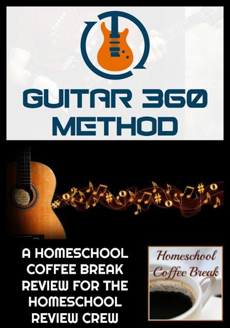 Guitar 360 Method - A Homeschool Coffee Break Review for the Homeschool Review Crew on Homeschool Coffee Break @ kympossibleblog.blogspot.com
