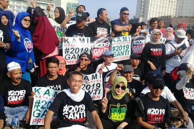 Gerindra: #2019GantiPresiden Lebih Laku daripada #JokowiDuaPeriode