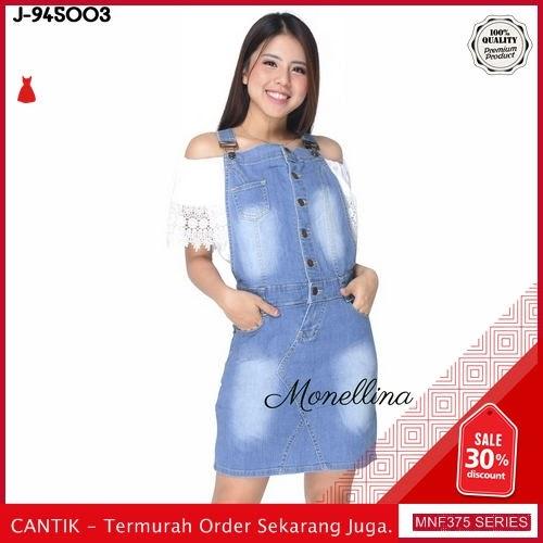 MNF375J98 Jumpsuit Overall Wanita 945003 Denim Jeans Jumpsuit 2019 BMGShop
