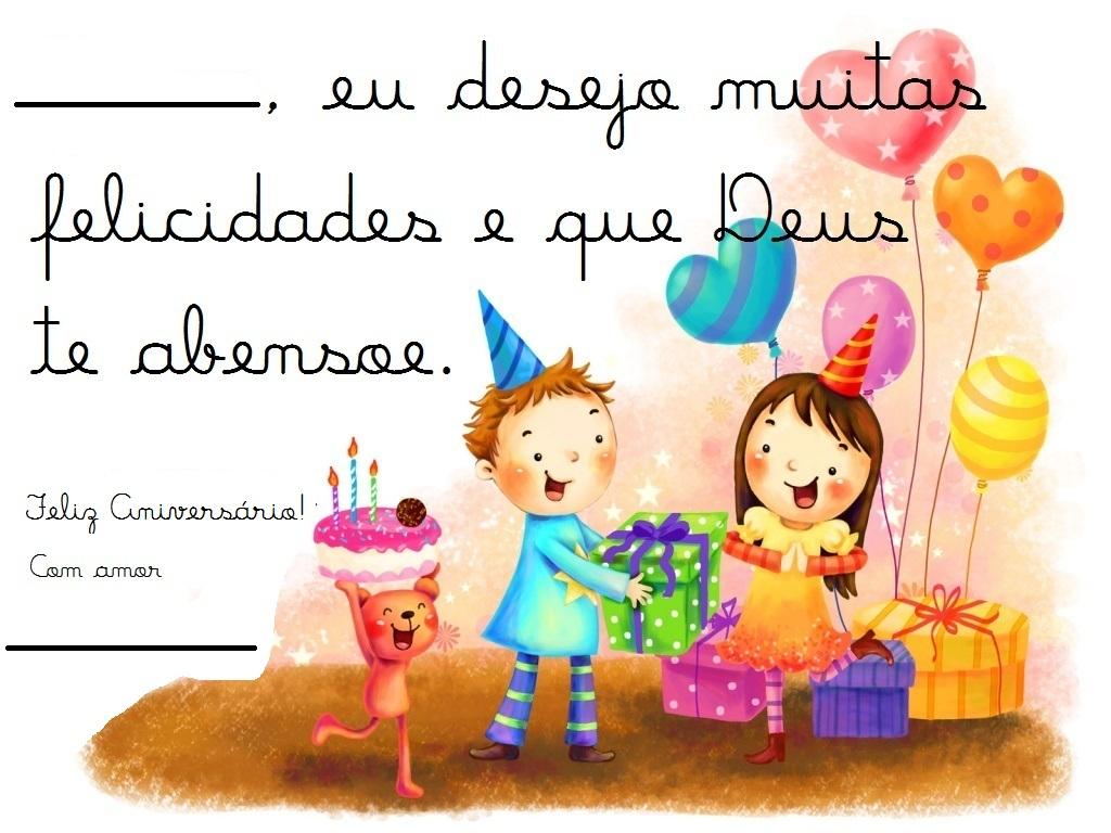 Cartão De Aniversário Em Espanhol