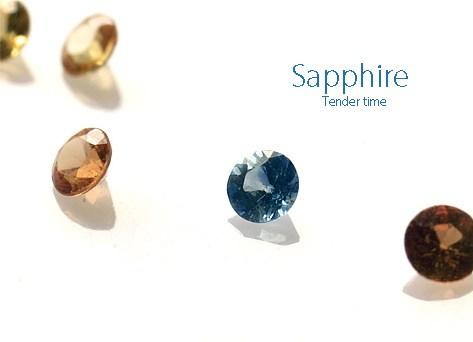 サファイア Sapphire Thailand 2.0~2.4㎜×0.31cts