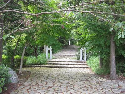 能褒野神社の参道