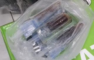 Sangue encontrado em seringas ao lado do Parque do Povo não é humano, diz IPC