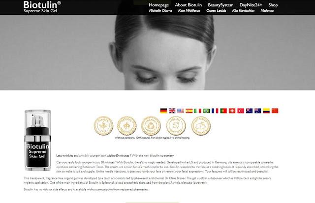 Extrait du site Biotulin - Blog