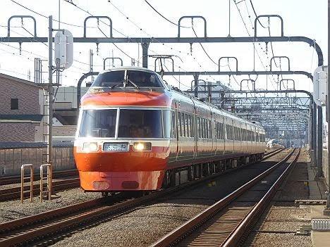 小田急電鉄 はこね1号 箱根湯本行き LSE7000形