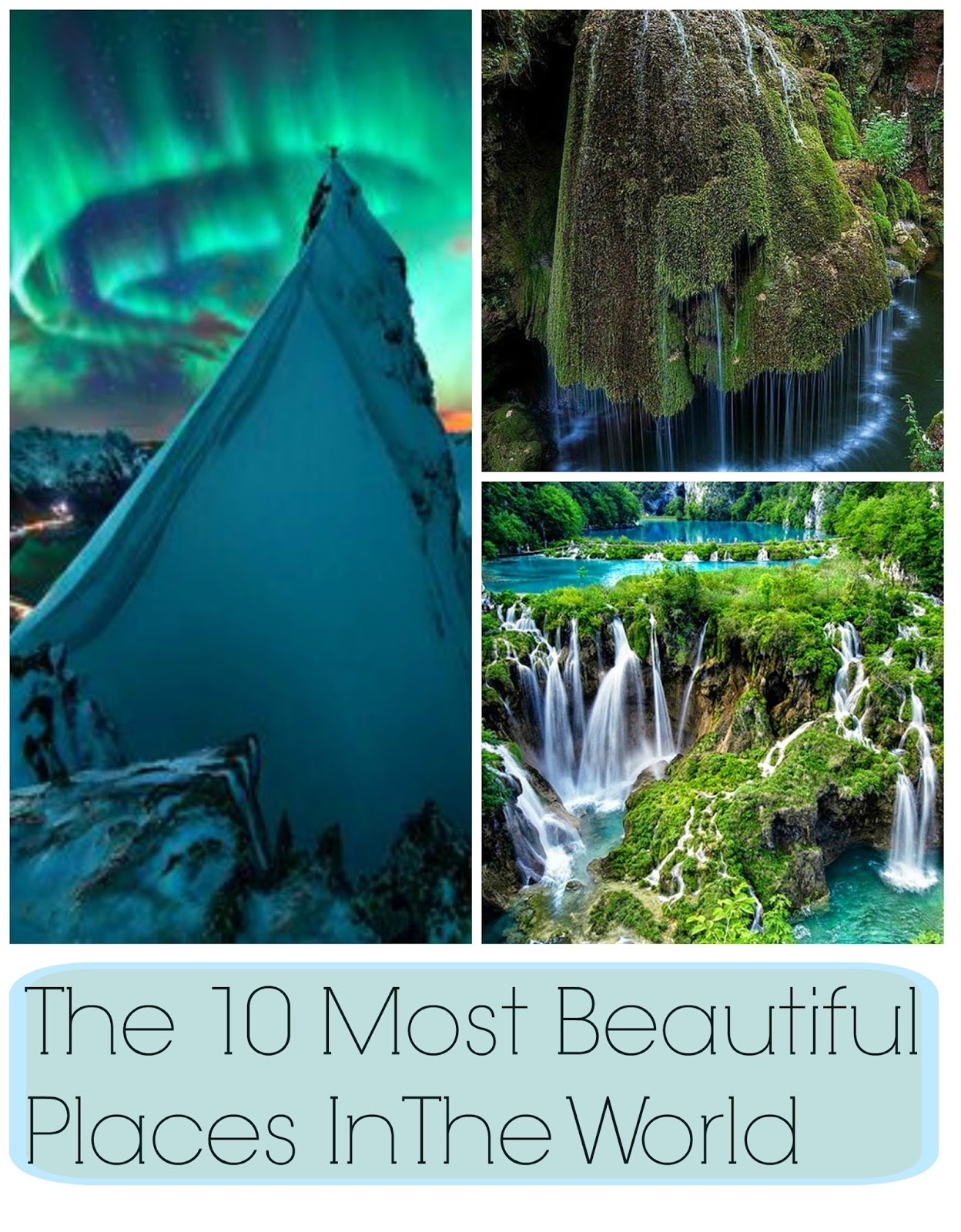 The 10 Most Beautiful Places In The World The Daily Luxe