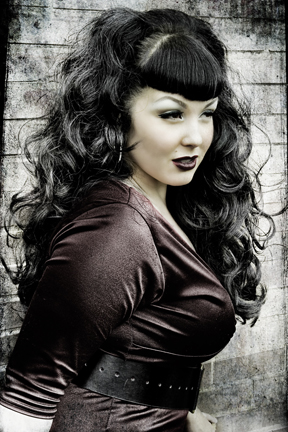 Gothic Hairstyles For Curly Hair
