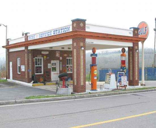 Growing Up In The South  ,: U S  Gasoline Service Stations