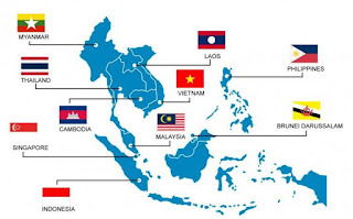 Letak Koordinat Negara ASEAN Terbaru Dan Terlengkap