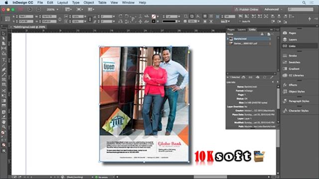 Adobe InDesign CC 2017 DMG File for Mac OS Direct Download Link