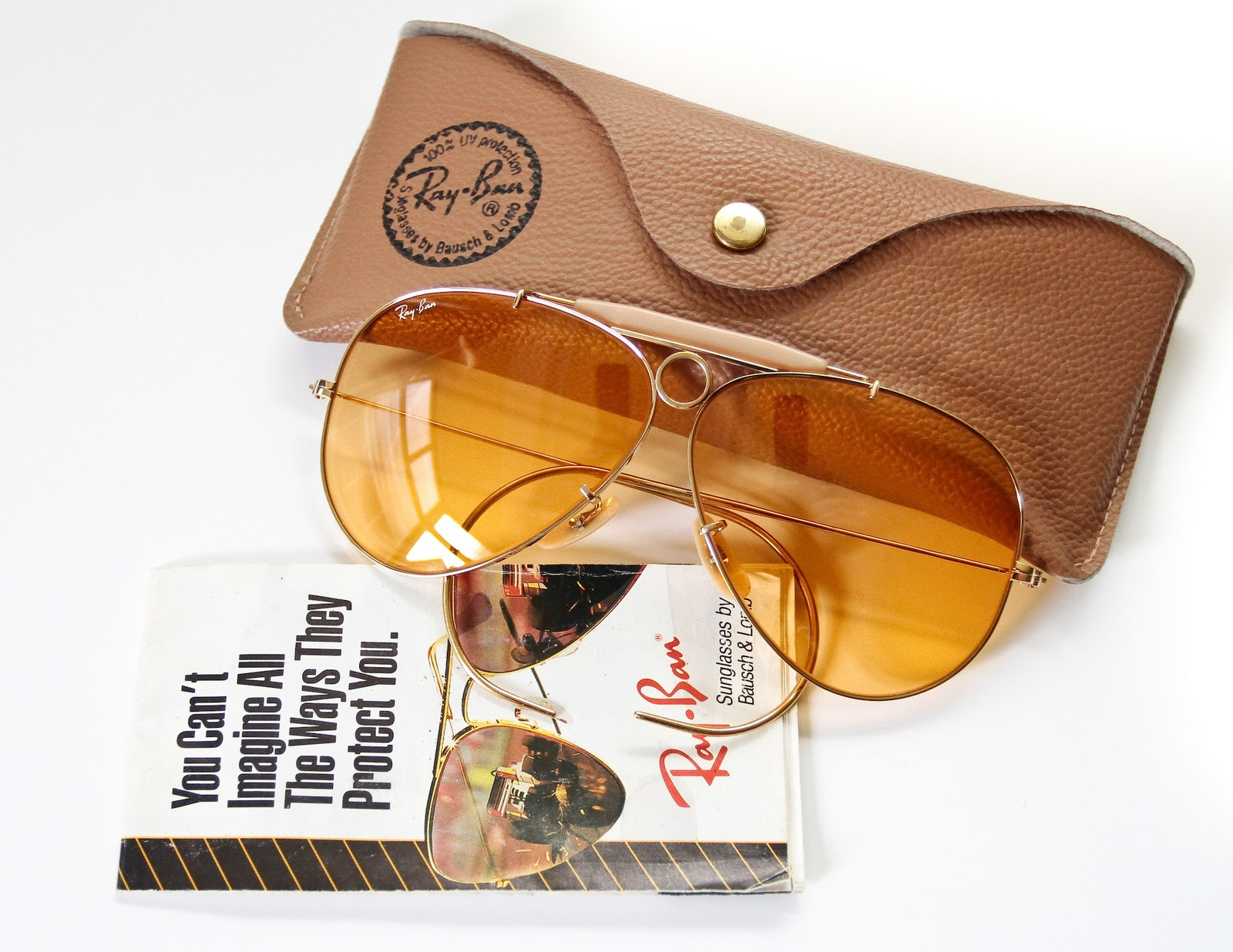f17de54fde Bausch   Lomb Ray Ban Ambermatic Shooter Games