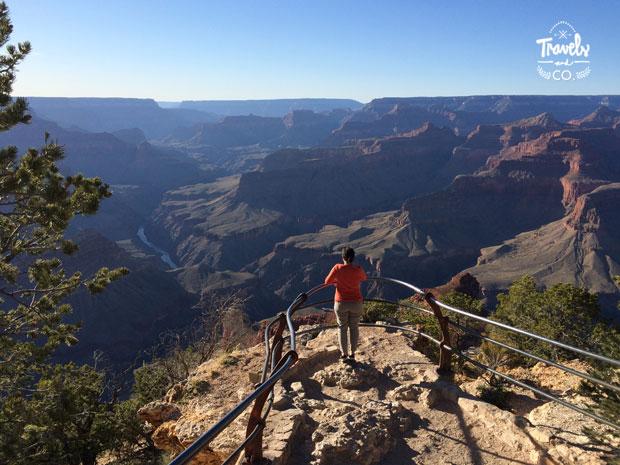 Guia para visitar el Gran Cañon vistas atardecer