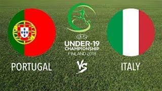 مباراة إيطاليا والبرتغال بث مباشر نهائي أمم أوروبا للشباب 29-7-2018 Portugal vs Italy live European U19