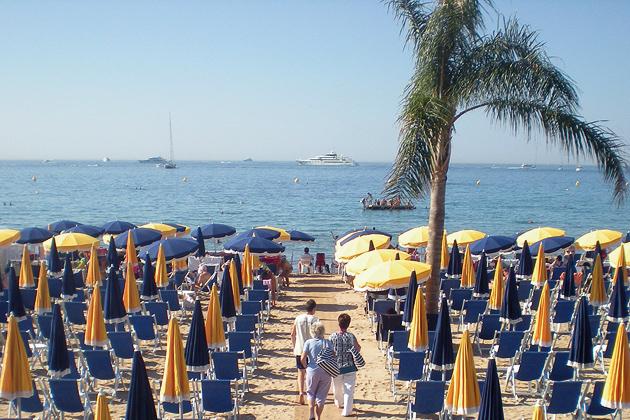 Praia Plage Macé em Cannes