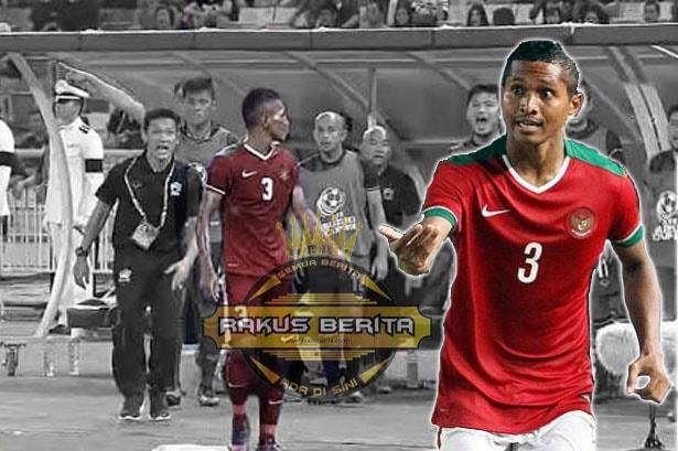 Usai Tendang Bola Ke Bench Thailand, Denda Abduh Lestaluhu Di Tanggung PSSI