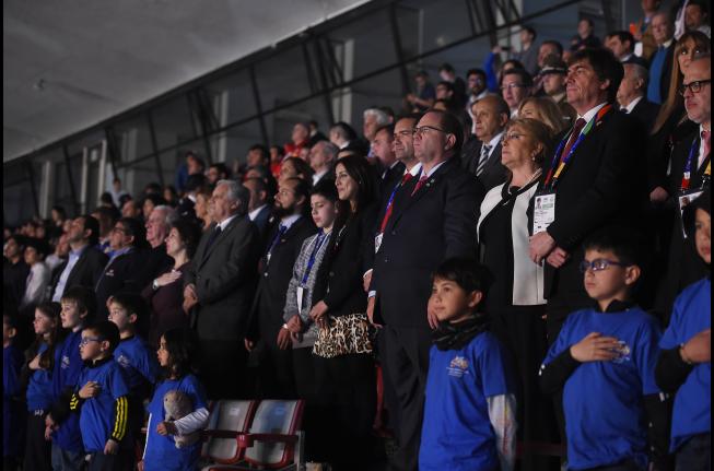 Bandera panameña es enarbolada en Chile para Juegos Suramericanos Juveniles