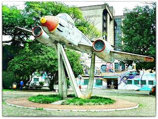 Praça do Avião (Praça Santos Dumont), Canoas
