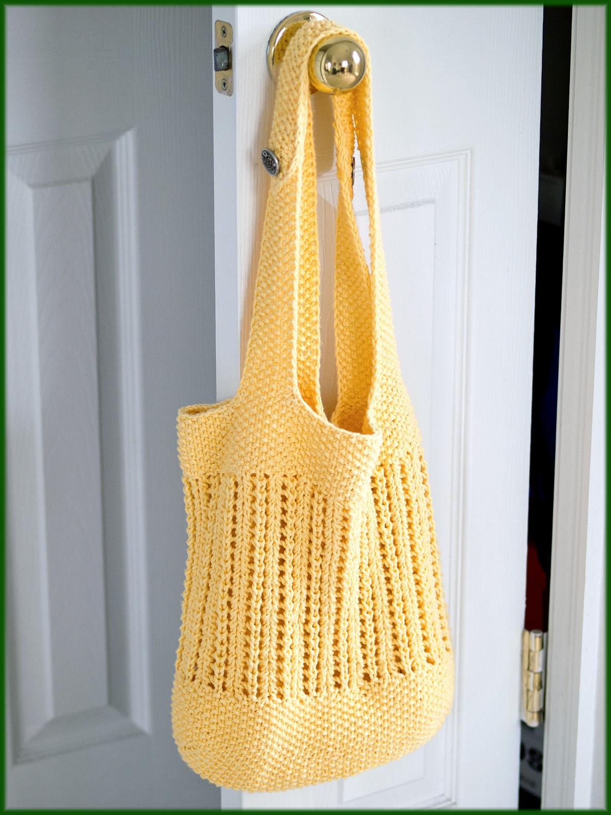 Wyndlestraw Designs: Market Bag Knit-along #7 - Handles ...