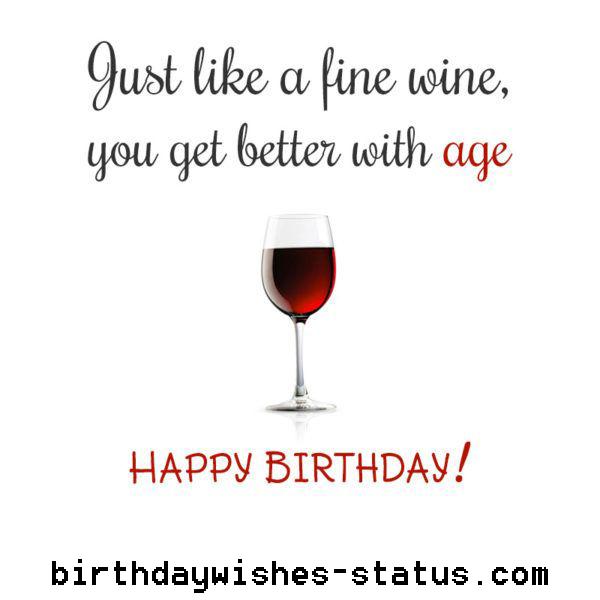 birthday wishes for wine drinker Birthday Wishes Status