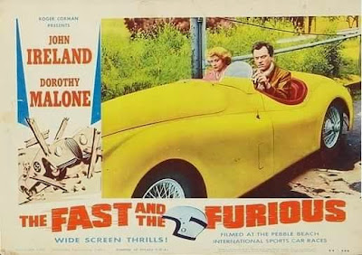 The fast and the furious 1955 poster
