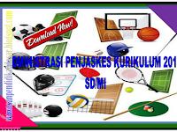 Administrasi penjaskes RPP Silabus KKM Promes Prota Kurikulum 2013 SD/MI