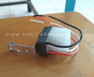 Cara Memasang Photo Sensor (Sensor Cahaya) untuk lampu penerangan