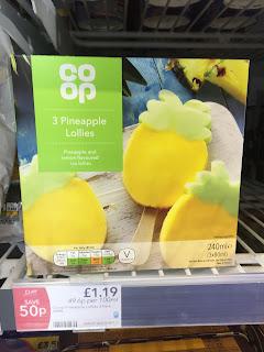 co op pineapple lollies