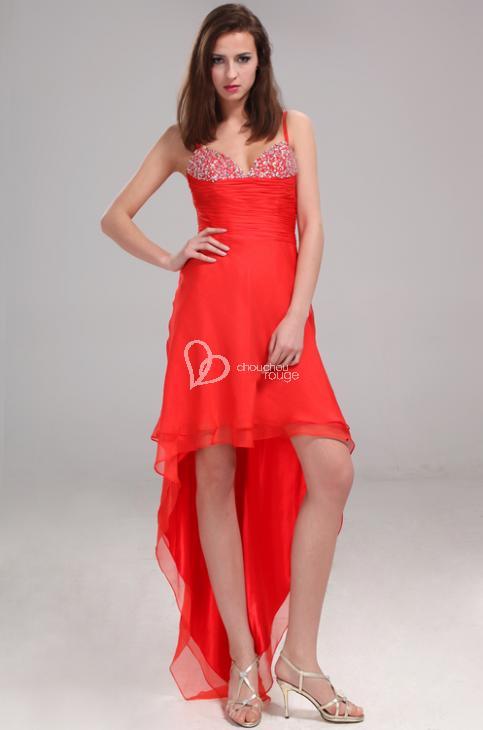 3359e2c16e9 Les robes de soirée à bretelles spaghetti