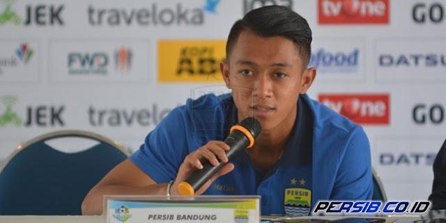 Febri Peraih Kartu Merah Pertama di Skuat Persib Bandung
