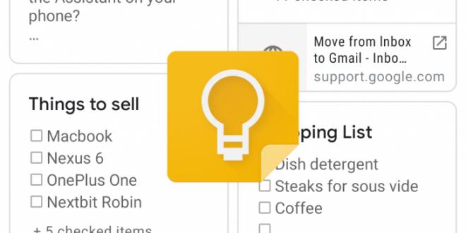 تطبيق Google Keep يتيح مساحة أوسع للكتابة اليدوية