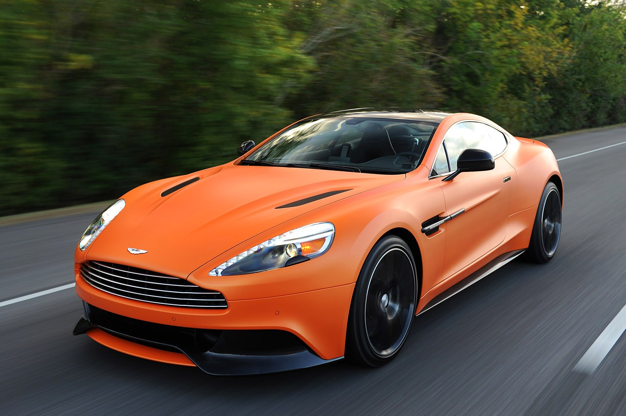 Cars Aston Martin: 2014 Aston Martin Vanquish Download