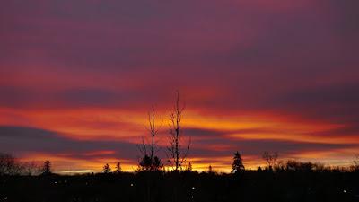 sunrise, Medicine Hat, Alberta, clouds, landscape
