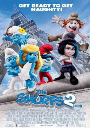 The Smurfs 2011 BluRay Hindi 720p Dual Audio 800Mb Watch Online Full Movie Download bolly4u