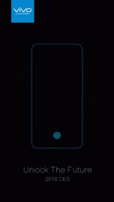 Vivo to unveils first smartphone with on-screen fingerprint reader on January 10