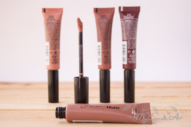 Paint Infalible Nudist: Lip Paint labiales y Eye Paint sombras de ojos.