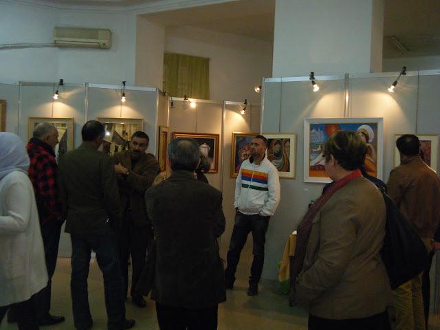 Exposition de peintures à La Galerie Aicha Haddad 8