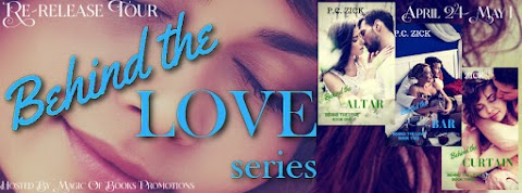Re-Release Tour: Behind The Love by P.C. Zick + GIVEAWAY