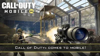 الحصول علي لعبة Call of Duty للاندوريد من متجر بلاي