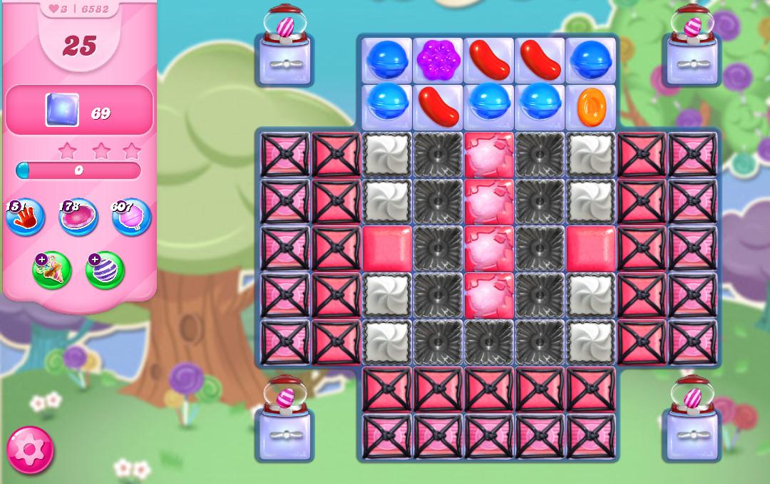 Candy Crush Saga level 6582